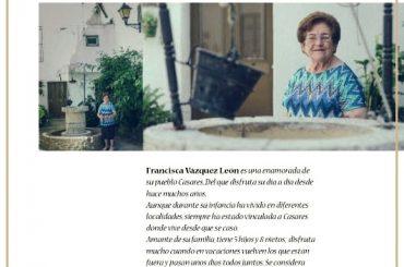 Curso intensivo de pintura en Casares. María Garcia entrevista a José Luís García en su sección de arte.