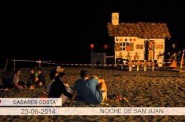 VÍDEO: Celebración de la Noche de San Juan en Casares Costa