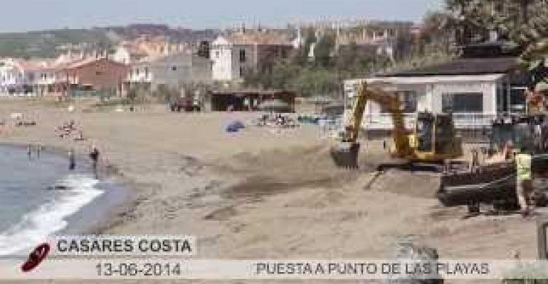 VÍDEO: Puesta a punto de las playas de Casares para el verano