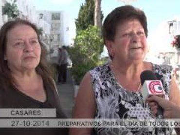 Vídeo: Casares se prepara para el Día de Todos Los Santos