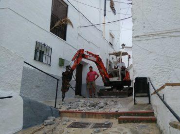 Comienzan las obras de acondicionamiento de la calle Barrio Bajo