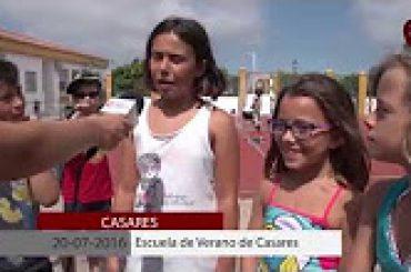 2016 07 11 Escuela de Verano de Casares