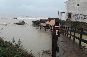 El temporal de lluvias provoca importantes destrozos