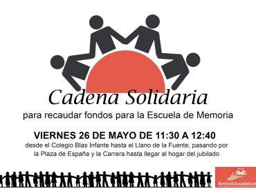 Casares celebra el viernes una cadena solidaria