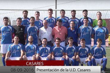 2016 10 08 Presentación de la UD Casares