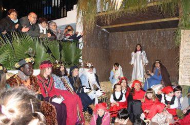 Celebración del tradicional Belén Viviente.