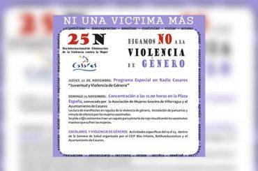 Informativos en Radio Casares | 16 de noviembre de 2018