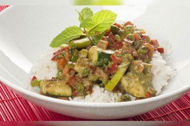 Somos lo que comemos | Arroz al curry con calabacín