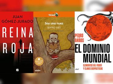 Biblioteca de Verano | 'Reina Roja', 'Soy una Nuez' y 'El Dominio Mundial'