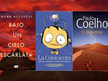 Biblioteca de Verano | 'Bajo un cielo escarlata', 'La cenicienta que no quería comer perdices' y 'El alquimista'