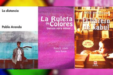 Biblioteca de Verano | 'La distancia', 'La ruleta de colores' y ' El librero de Kabul'