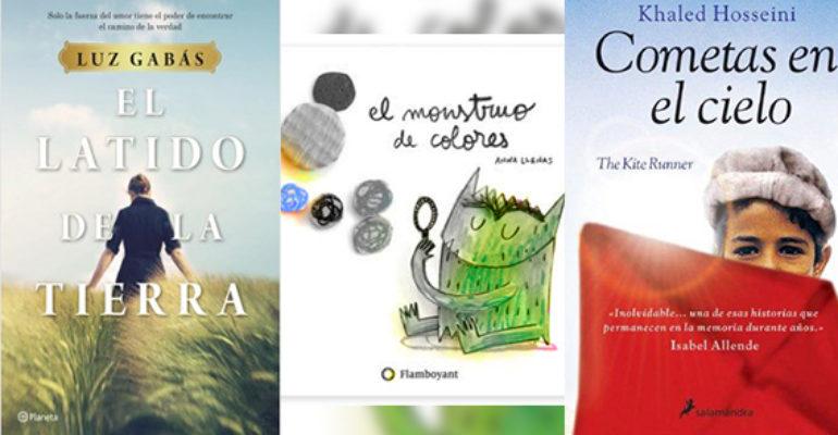 Biblioteca de Verano | 'El Latido de la Tierra', 'El Monstruo de Colores' y 'Cometas en el Cielo'