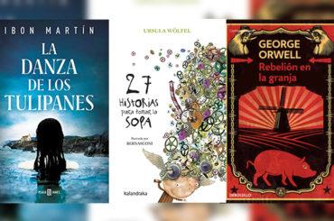Biblioteca de Verano | 'La Danza de los Tulipanes', '27 historias para tomar la sopa' y 'Rebelión en la granja'