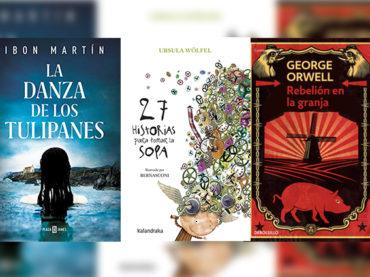 Biblioteca de Verano   'La Danza de los Tulipanes', '27 historias para tomar la sopa' y 'Rebelión en la granja'