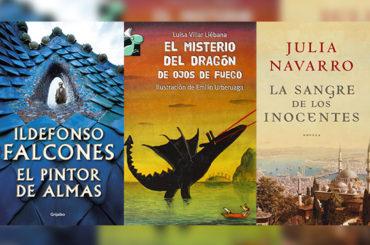 Biblioteca de Verano | 'El Pintor de Almas', 'El Misterio del Dragón de ojos de fuego' y 'La sangre de los inocentes'