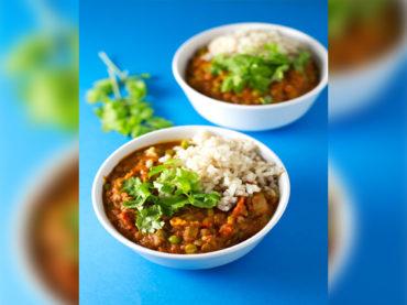 Somos lo que comemos | Receta de Curry de Guisantes