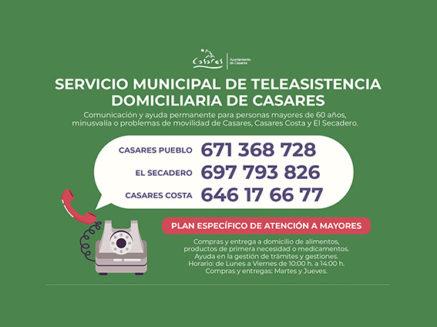 Informativos en Radio Casares | 27 de marzo de 2020